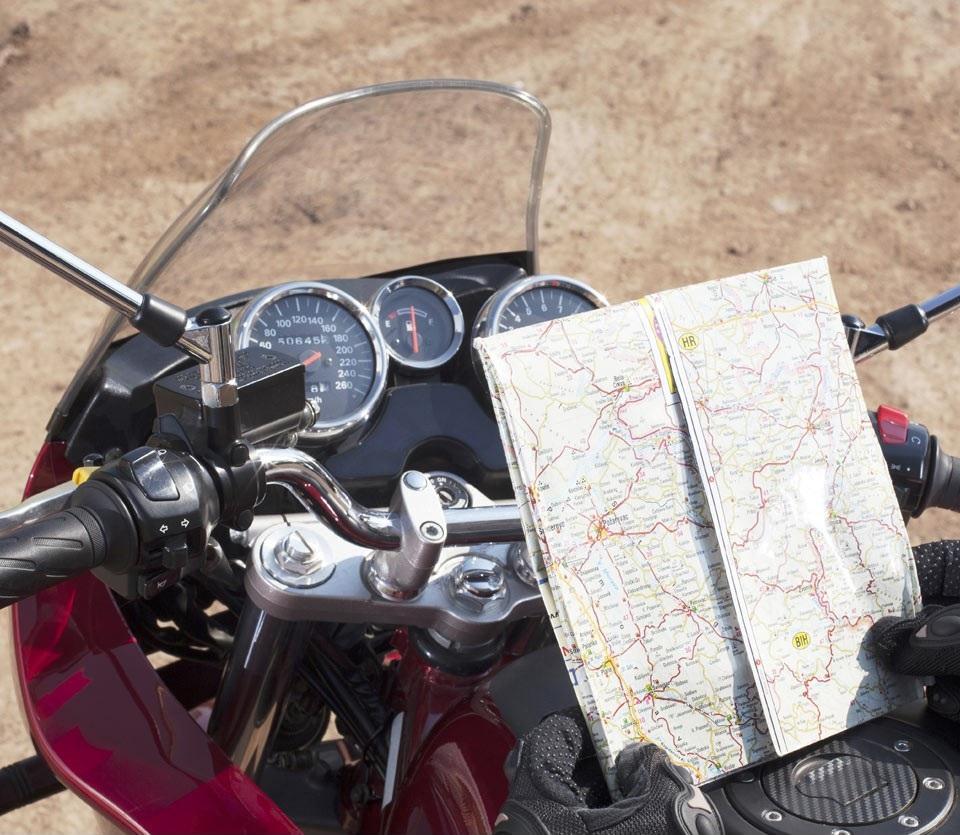 motorrijden route