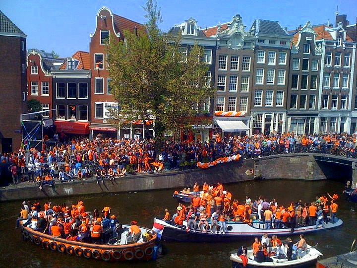 Koningsdag Amsterdam 2014