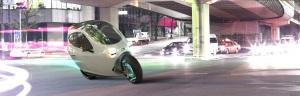 Nieuwe tweewieler met comfort van auto in de maak