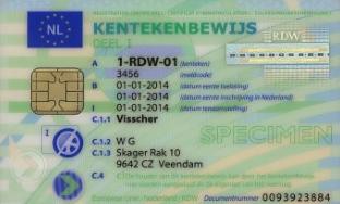 Alle voertuigen dienen een kentekencard te krijgen