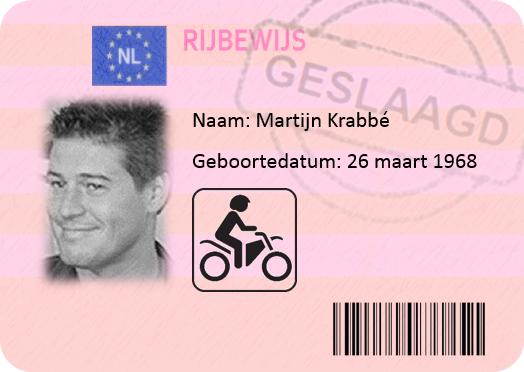 Martijn Krabbé motor