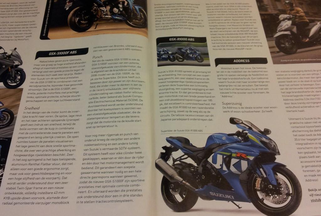 magazine motor