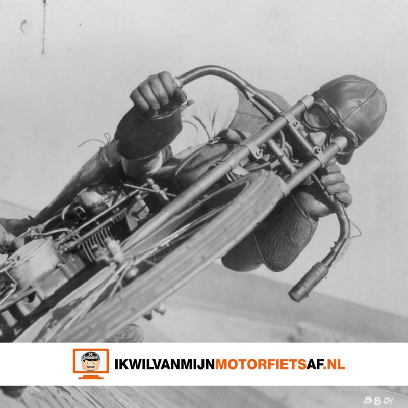 motorcoureurs vroeger