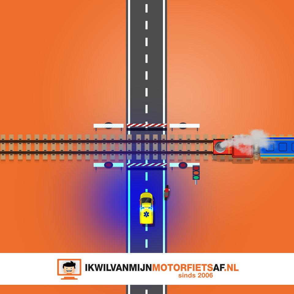 ambulance spoorovergang