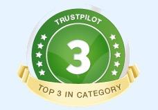 Top 3 Trustpilot Auto's