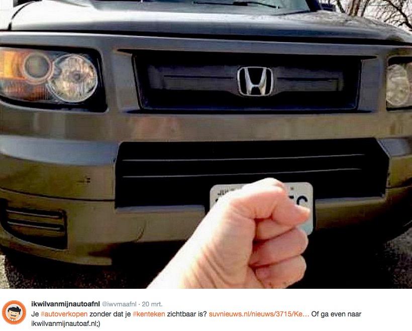 Zo blijf je anoniem als autoverkoper