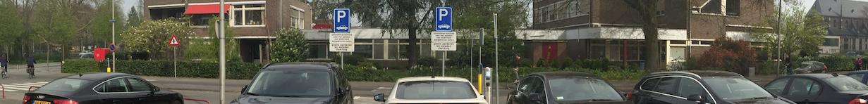Elektrische auto gratis parkeren
