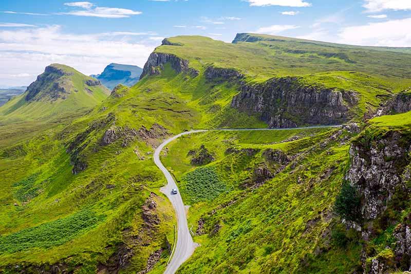 Autoroute in Schotland
