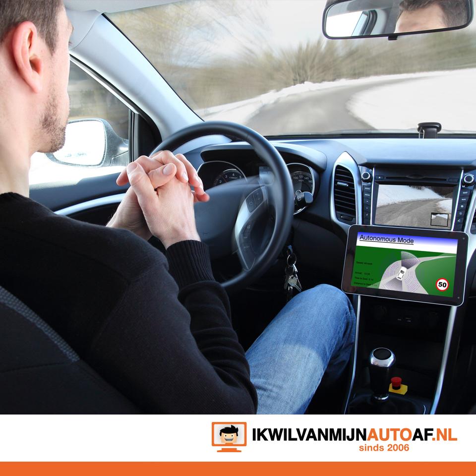 Op de autopilot geen handen meer aan het stuur