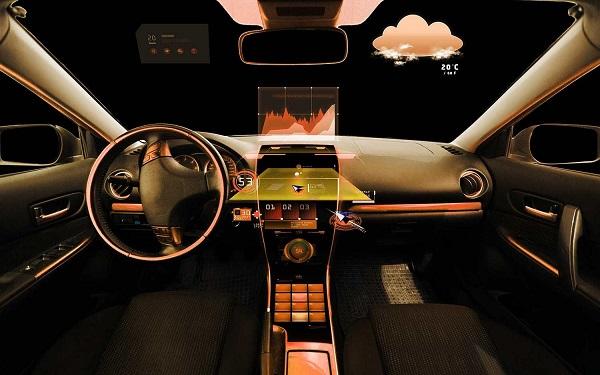 moderne techniek auto