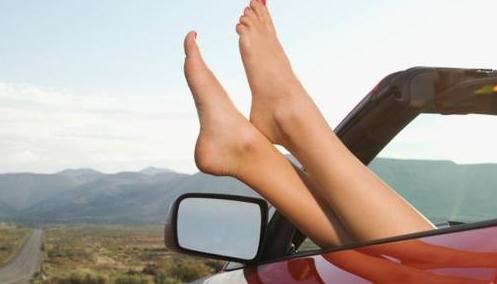 Vrouwelijke automobilisten