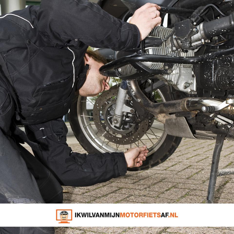 repareren motorfiets
