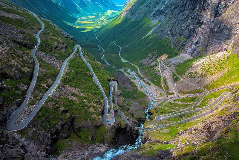 Trollenroute Noorwegen