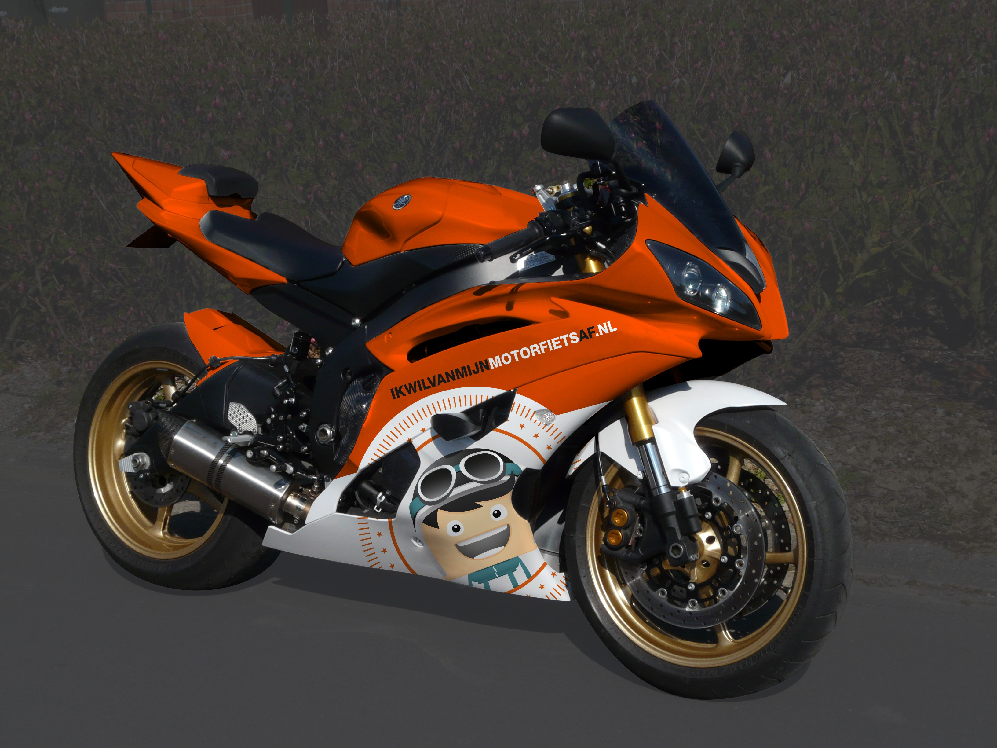 ik wil van mijn motorfiets af