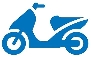 snorfiets symbool