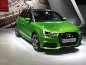 Audi A1 weg uit Vorst