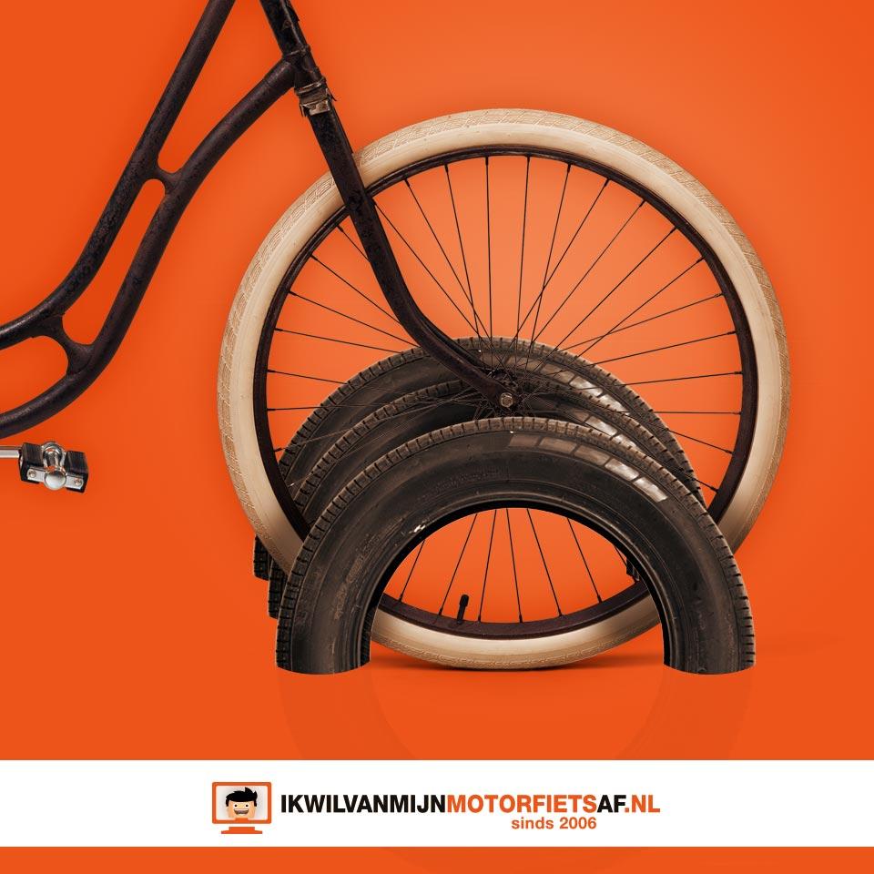 motorband fietsenrek