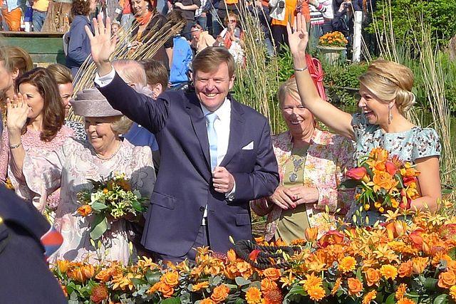 Koninklijke familie Koningsdag