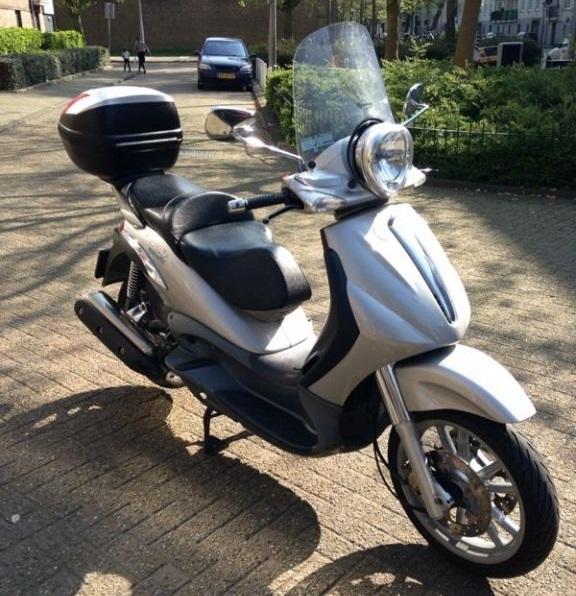 Piaggio scooter verkopen