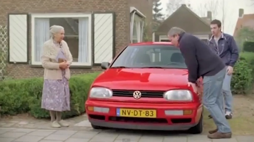 Reclame Volkswagen Golf