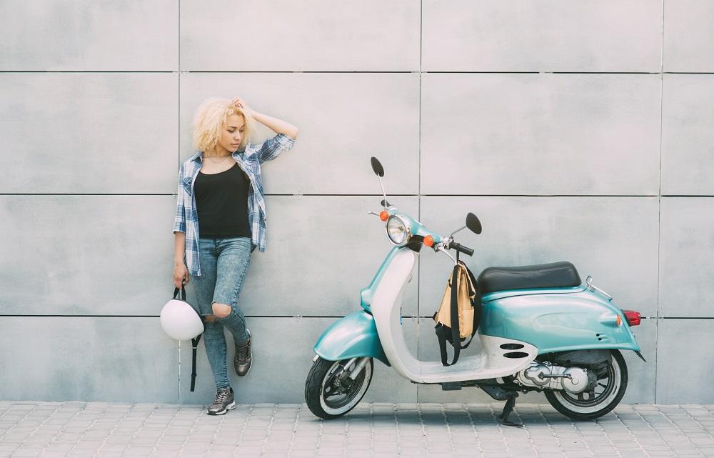 scooter kickstart