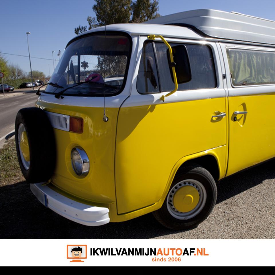 De originele T1 Volkswagen bus