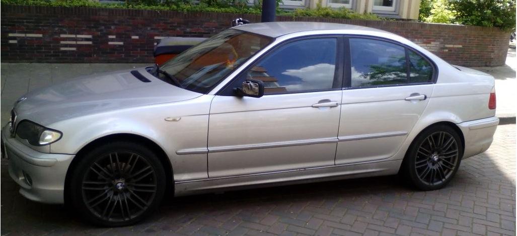 BMW 3-serie airbag