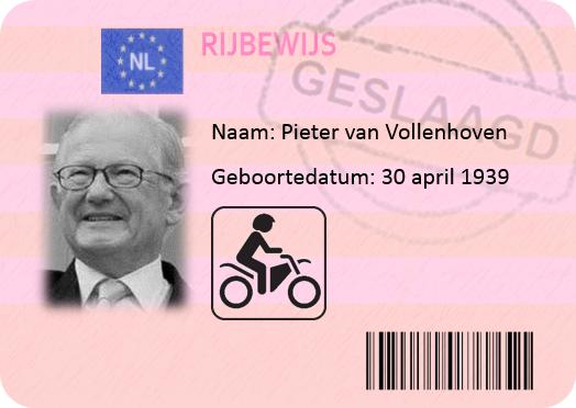 Pieter van Vollenhoven motor