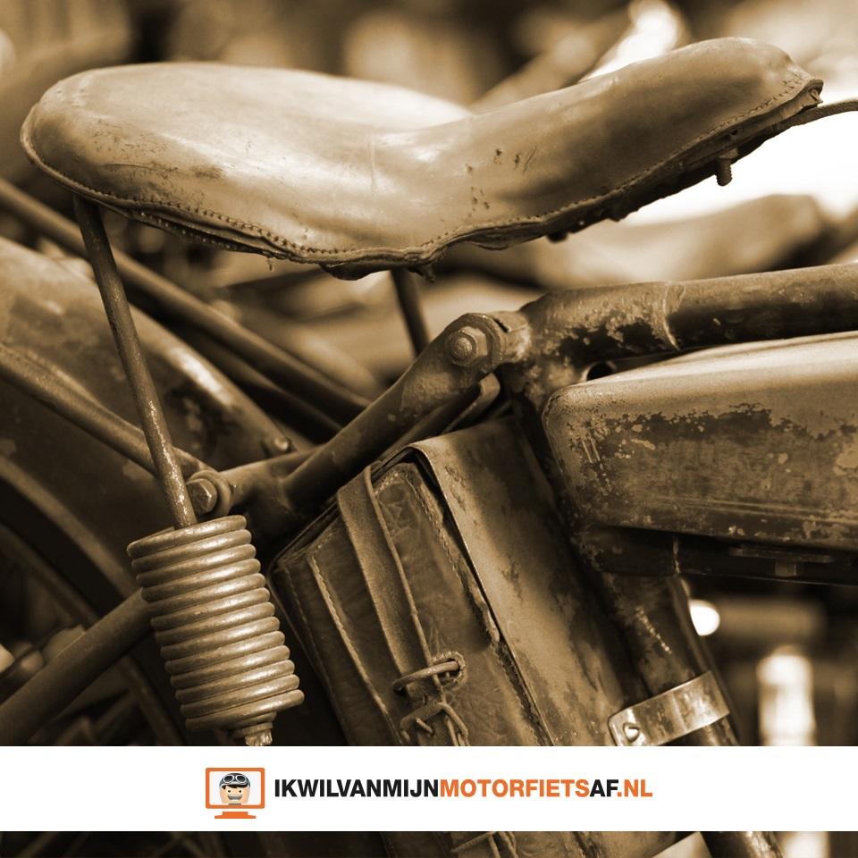 oude motorzitting