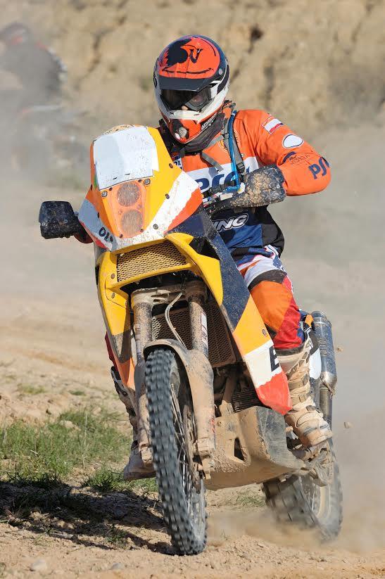 motorrijder rally