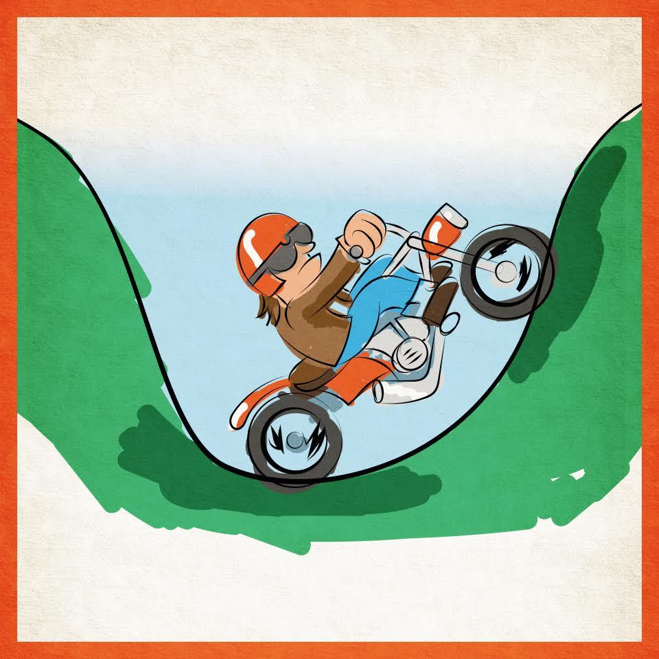 motorrijden bergen