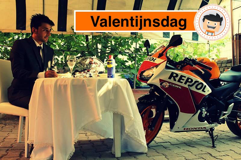 valentijnsdag motor