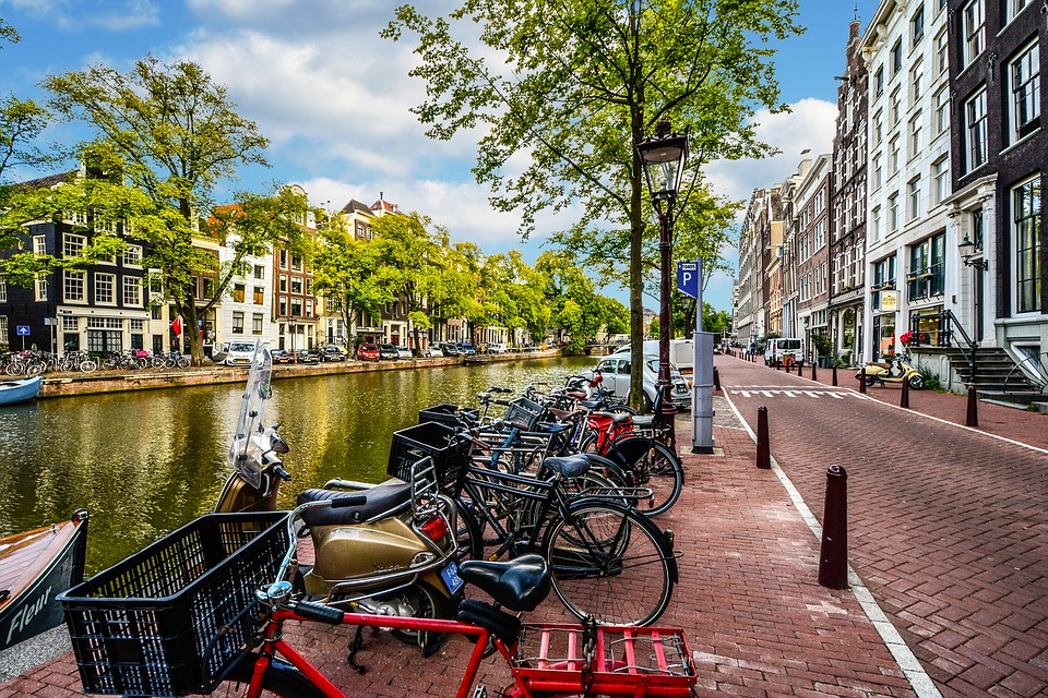 Amsterdam scooters