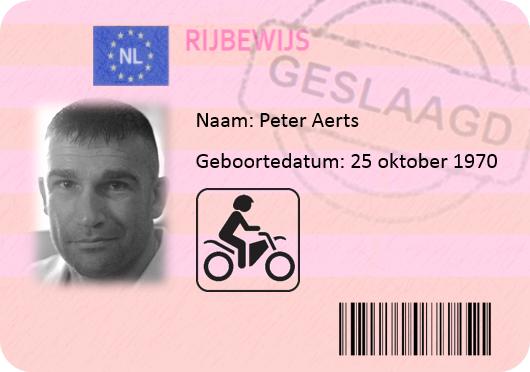 Peter Aerts motor