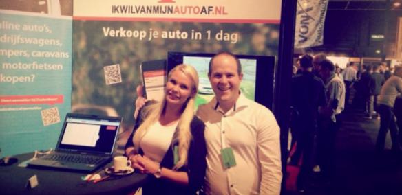Ikwilvanmijnautoaf.nl op Vakbeurs