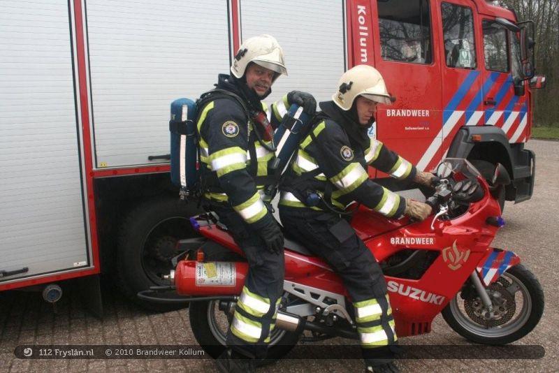 brandweer motor