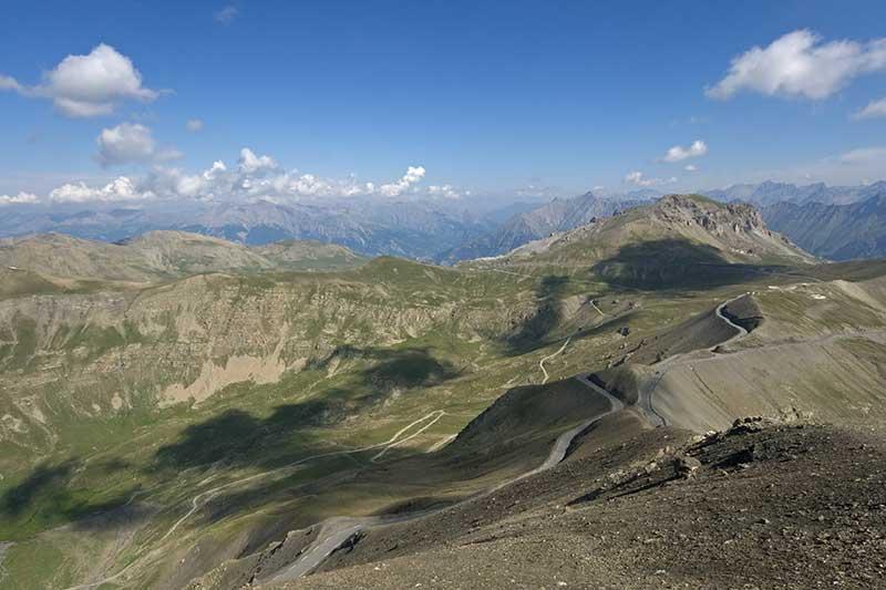 Rijden door de Alpen