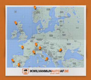 Mooiste autoroutes in Europa