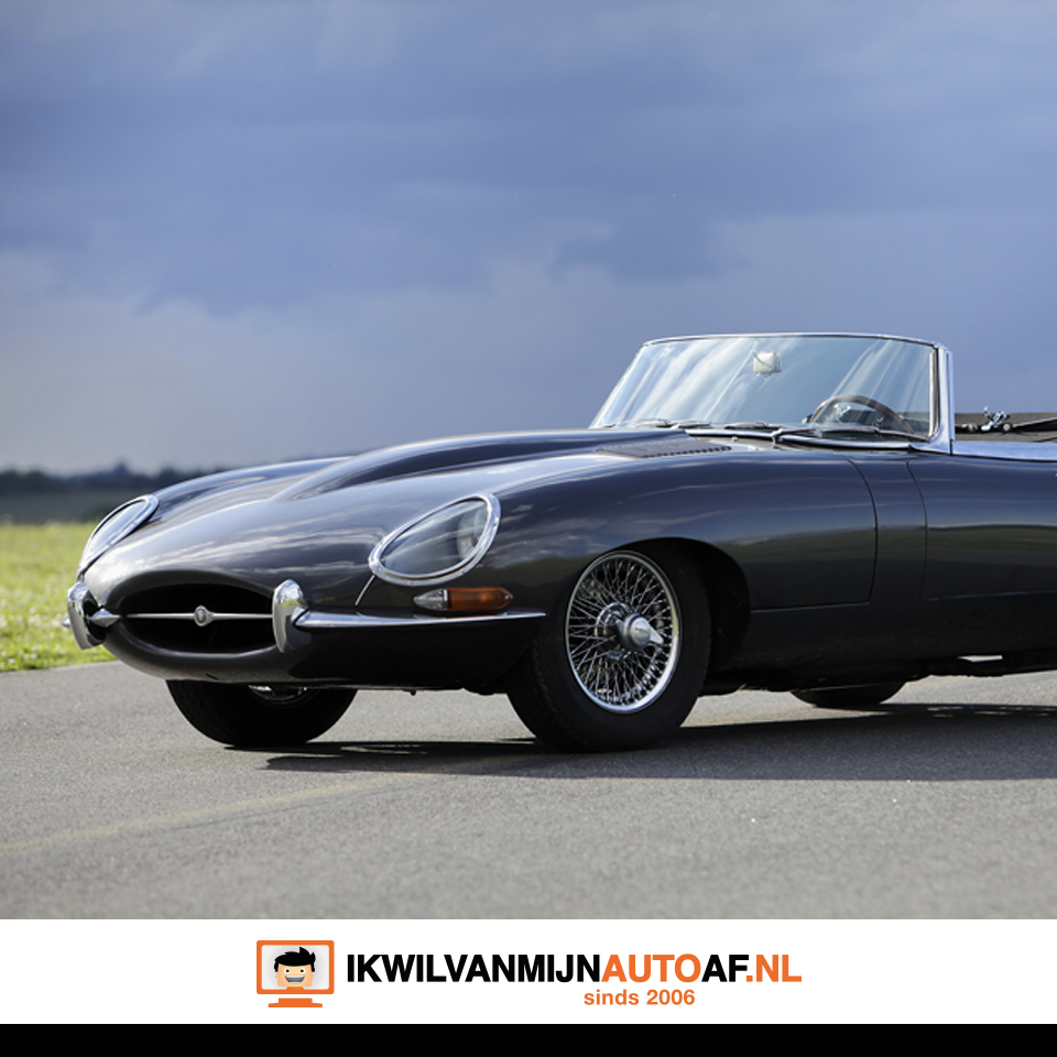 Een van de mooiste auto's ter wereld, de Jaguar XK-E