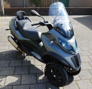 Concurrentie driewielers Piaggio
