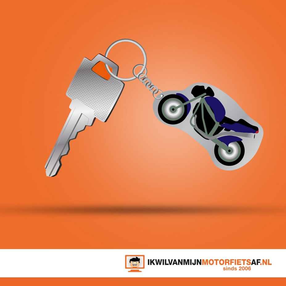 sleutel motorfiets