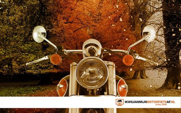motorrijden herfst