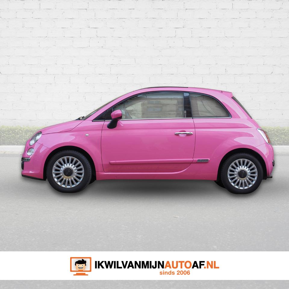 Roze auto staan ook wel bekend als barbie auto's