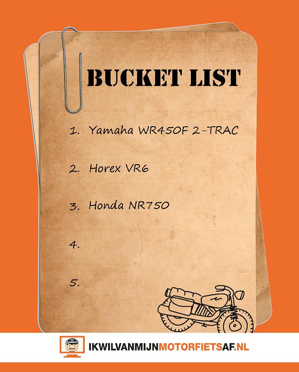 bucket list motorfietsen