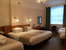 Double & Two Single Beds en-suite