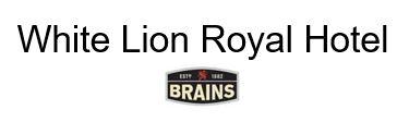Logo of White Lion Royal Hotel - Brains