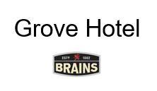 Logo of The Grove Hotel - Brains