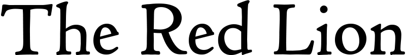 Logo of The Red Lion - City Pub Company