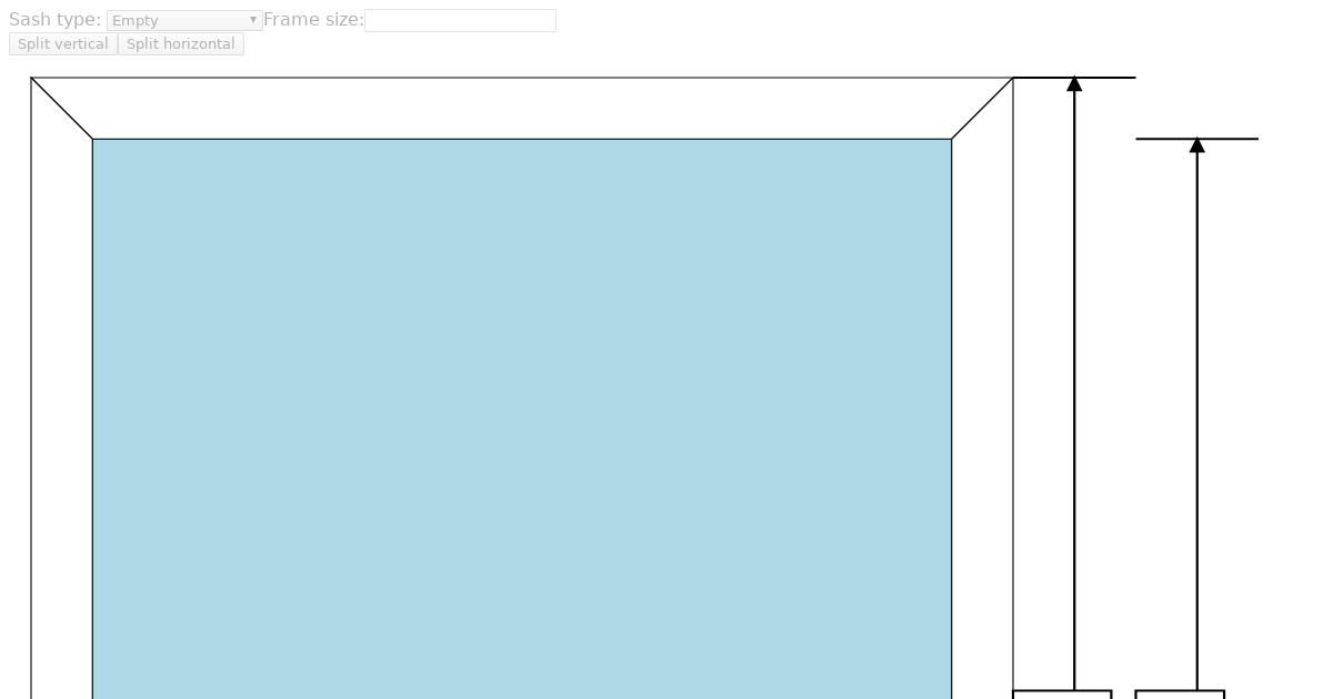 Window Frame Design App