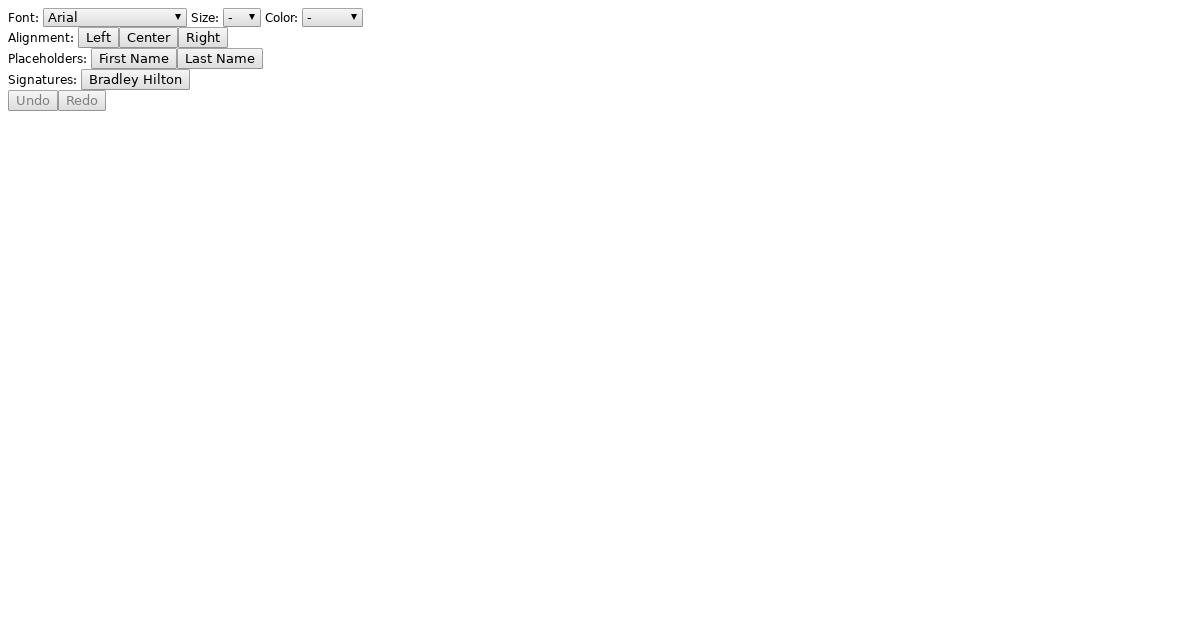 Slate js Editor - CodeSandbox